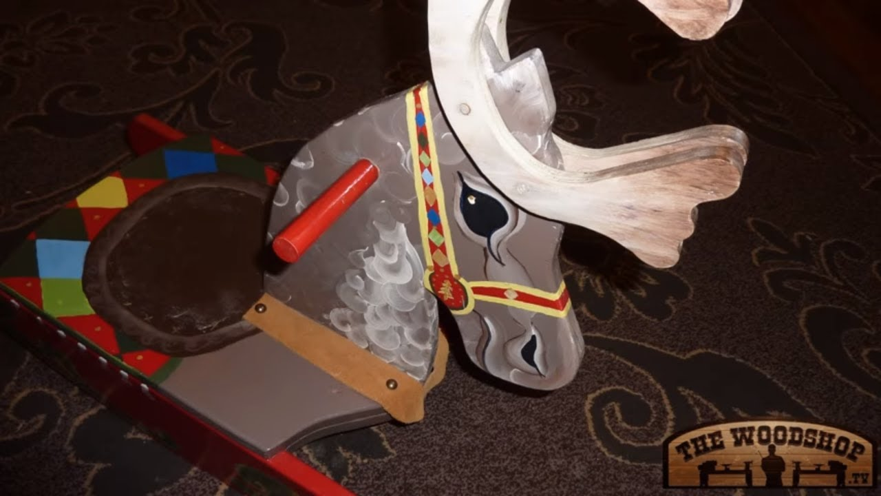 How to make a rocking horse woodworking project youtube for How to make a horseshoe