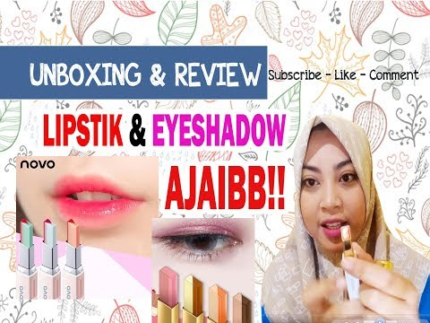 unboxing-&-review-magic-lipstik-&-eyeshadow-novo-&-bioaqua