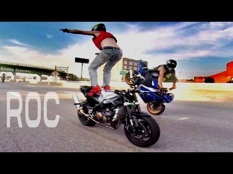 AMAZING Motorcycle STUNTS Streetfighterz RIDE OF THE CENTURY ROC Extreme Freestyle Stunt Bike TRICKS