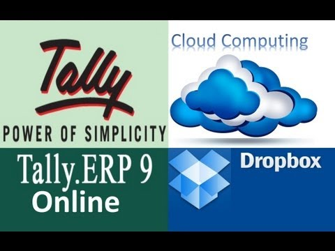 Online Data Entry From Tally ERP 9 Crack Using Dropbox For Free