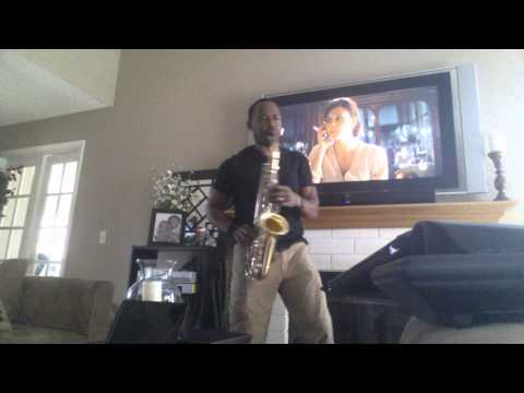 Michael Jackson -I wanna rock with you (sax)