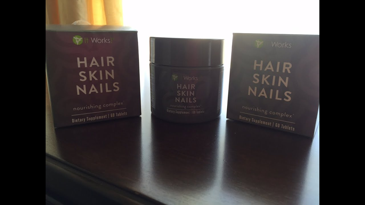 It Works Hair Skin Nails | HSN Vitamin Review - YouTube