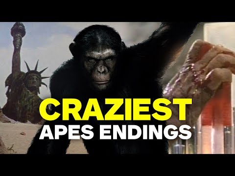 Thumbnail: Craziest Planet of the Apes Twist Endings
