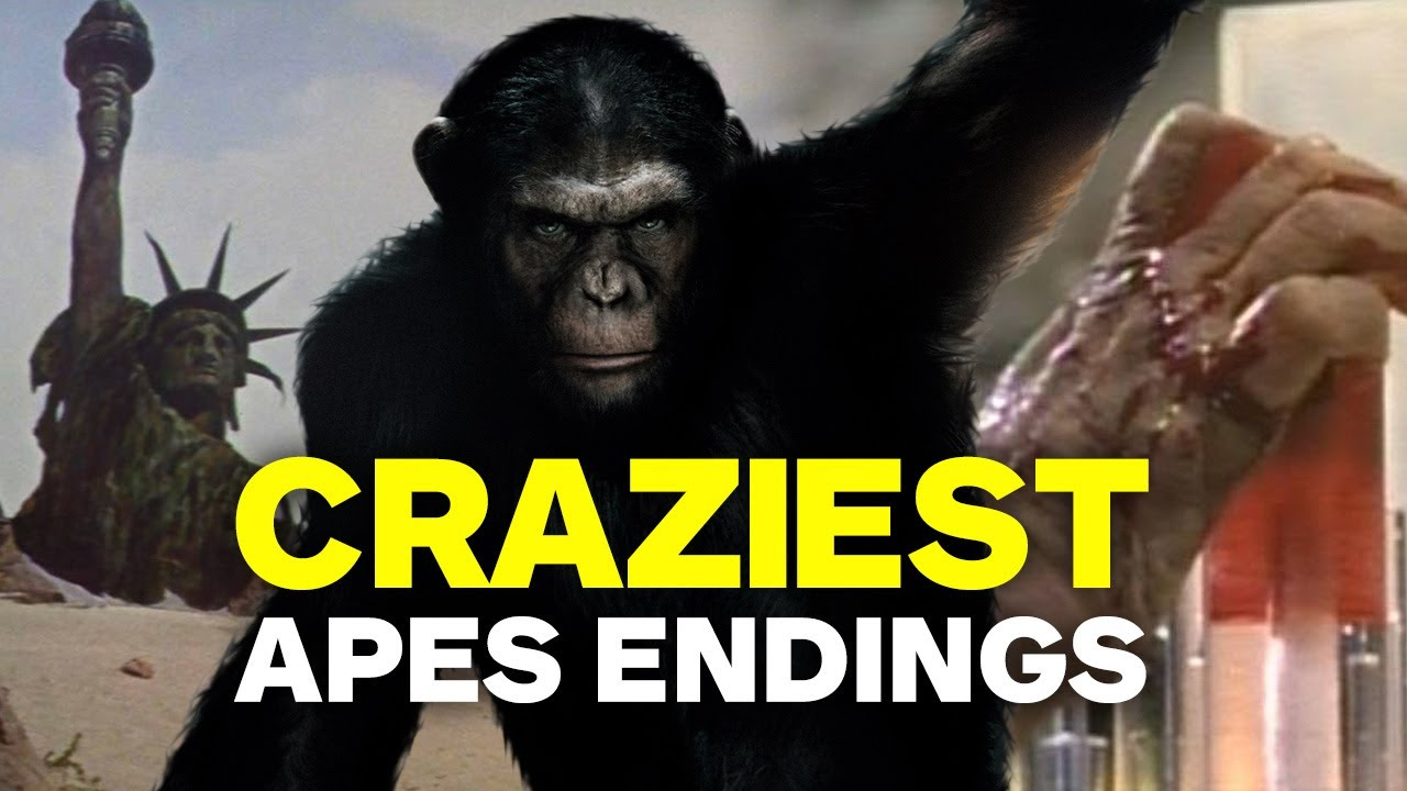 Craziest Planet Of The Apes Twist Endings Youtube