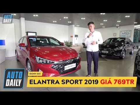 Đánh giá nhanh Hyundai Elantra Sport 2019 GIÁ 769 TRIỆU: Vượt trội các đối thủ?