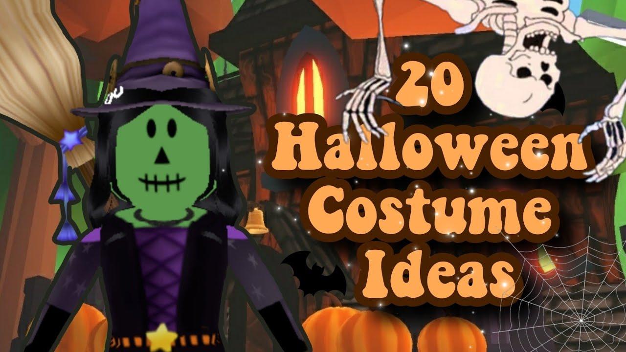 20 Halloween Costume Ideas In Adopt Me 2020 Roblox Youtube
