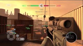 Golden Eye Reloaded 007, Team Conflict match on map Station [PS3]