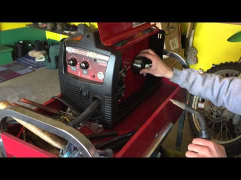 How to Change MIG Wire on a Lincoln Electric Weld-pak 140 HD