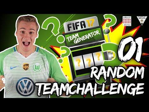 RANDOM TEAM CHALLENGE | GEWINNEN WIR DEN LIGA 1 TITEL?! [1/2] | FIFA 17 DEUTSCH