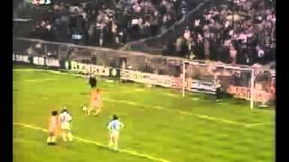 Johan Cruyff of Ajax  penalty which inspired Lionel Messi of Barcelona penalty