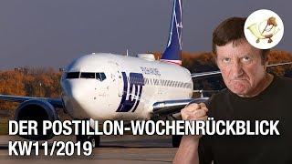 Der Postillon Wochenrückblick (11. März – 16. März 2019)