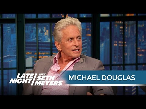 Michael Douglas Is Jealous of His AntMan CoStar Paul Rudd  Late Night with Seth Meyers