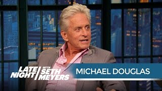 Michael Douglas Is Jealous of His Ant-Man Co-Star Paul Rudd - Late Night with Seth Meyers