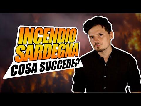 Incendi: cosa sta succedendo in Sardegna?
