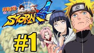 Naruto Shippuden: Ultimate Ninja Storm 4 - MODO AVENTURA #1 - A CARTA!!