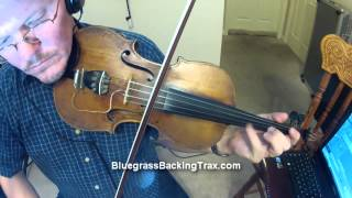 Mark Lewis - Down Yonder On The Fiddle - www.BluegrassBackingTrax.com