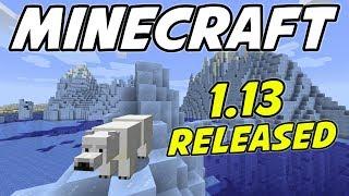 Minecraft 1.13 AMAZING SEED! Icebergs, Shipwreck, Ruins and Buried Treasure!!