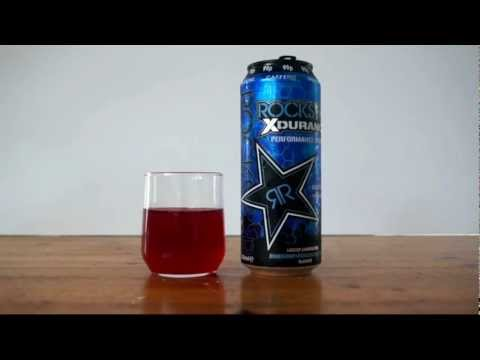 ROCKSTAR Xdurance Performance Energy Drink Review