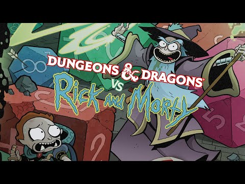 D&D Vs. Rick And Morty LIVE!