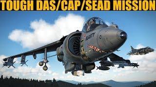STRESSFUL Modern Air Combat & Strike Mission | DCS WORLD