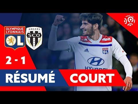 Résumé Court OL / Angers 2019   Ligue 1   Olympique Lyonnais