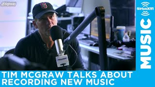 Tim McGraw reflects on recording his new music Video