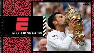 Novak Djokovic wins Wimbledon to claim record-tying 20th Grand Slam victory