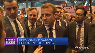French President Macron: Told Zuckerberg tech needs new regulation | In The News