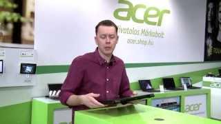 Acer Aspire E1-510 magyar nyelvű bemutató az AcerShopban