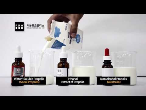 SEOUL PROPOLIS I Water-soluble and Alcohol Free Propolis Technology (WEEP)