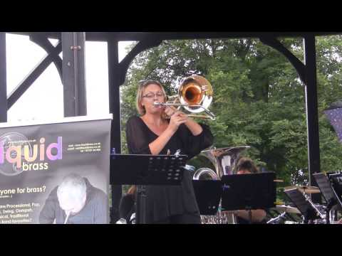 Tamworth Bandstand Highlights 2013 Liquid Brass Solo Trombone