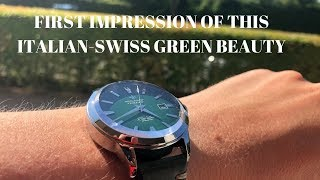 This Italian Swiss Watch Is Classy And Beautiful And Not Even Too Expensive