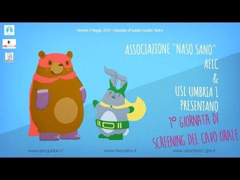 1° GIORNATA DI SCREENING CAVO ORALE Promossa Da ASSOCIAZIONE NASO SANO | AELC | USL UMBRIA 1