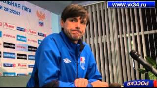 Ротор - Торпедо 0-0 пресс-конференция тренеров(, 2013-04-29T20:47:33.000Z)