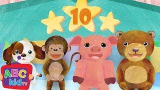 Ten in the Bed (2D)   CoComelon  Nursery Rhymes & Kids Songs