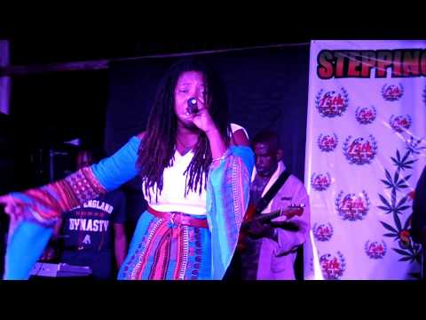 Isha Bel live - Stepping High Ganja Festival  Mar 2018-African woman