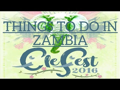 Things To Do In Zambia: Ele Fest. Art & Music Festivals