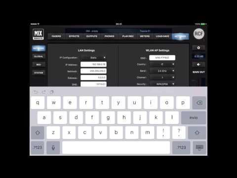 RCF M18 Digital Mixer Tutorial 6