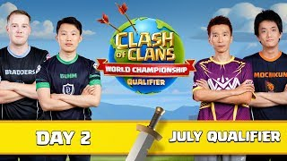 World Championship July Qualifier Day 2 Clash of Clans