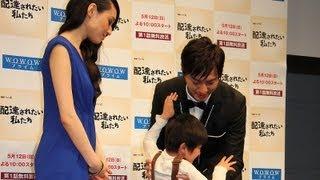 俳優の塚本高史さんが5月7日、主演を務めるWOWOWの連続ドラマW「配達さ...