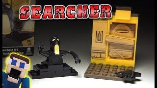 Bendy and the Ink Machine Boarded Door w/ SEARCHER Mini Playset UNBOXING Construction Set BATIM