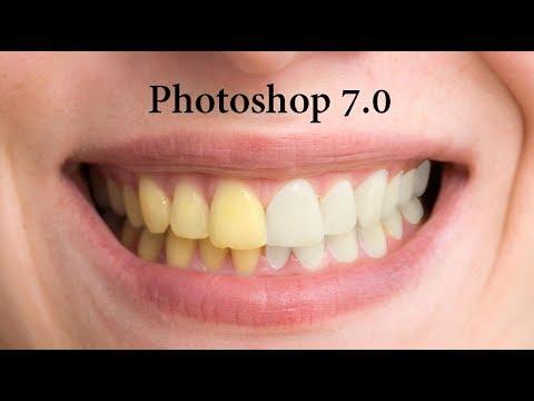 How To Brighten Whiten Teeth In Photoshop 7 0 In Hindi Urdu