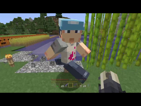 "Minecraft PS4: #13 ""RUN BOY, RUN!"""