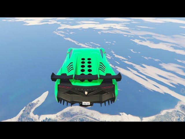 HIGHEST JUMP EVER! (GTA 5 Funny Moments)