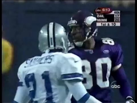 Randy Moss & Cris Carter vs Deion Sanders (1999) | WR vs CB Highlights