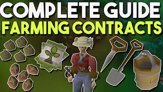 How to do Efficient Farming Contracts with a Few Simple Tricks! Farming Contract Guide[OSRS]