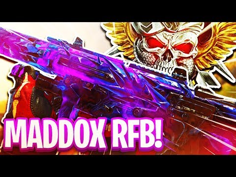 (BO4) BEST MADDOX RFB CLASS SETUP TO GET NUCLEARS! (BLACK OPS 4)