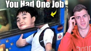 You Had One Job! (Funny Fails)