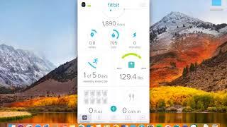 Fitbit app tutorial