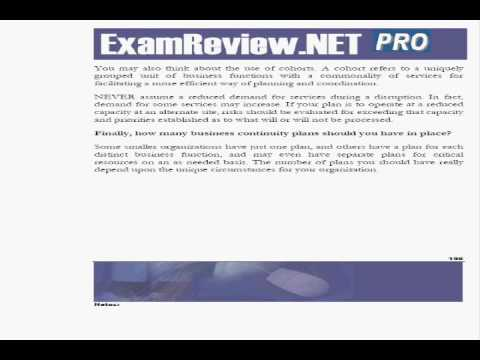ExamREVIEW CBCP Study Guide and Practice Test - YouTube